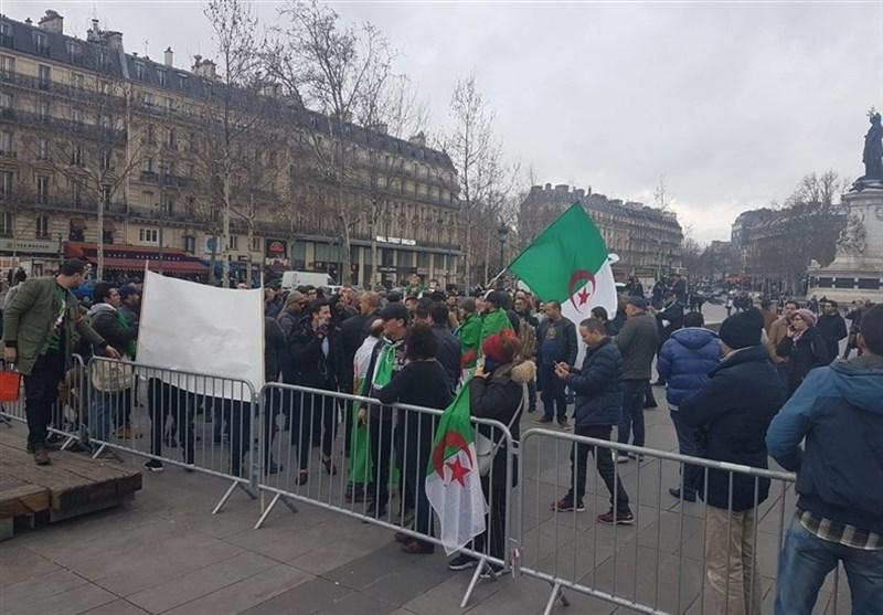 تظاهرات الجزایری های مقیم فرانسه علیه دولت الجزیره