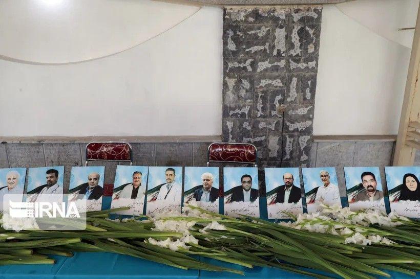 خبرنگاران پزشکان نیمی از شهدای مدافع سلامت در مشهد هستند