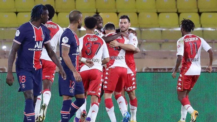 (ویدیو) خلاصه بازی موناکو 3 - 2 پاری سن ژرمن 30 آبان 99