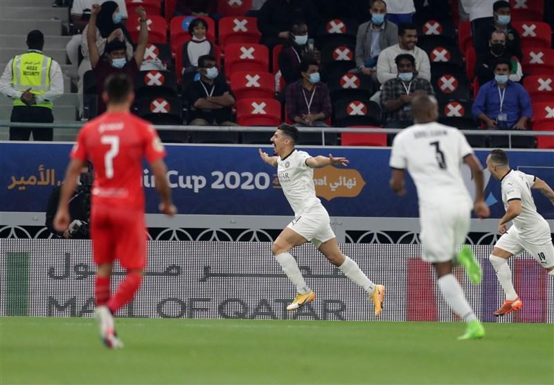 قهرمانی السد در کاپ قطر با شکست العربی ، حضور امیر قطر برای افتتاح استادیوم جام جهانی 2022
