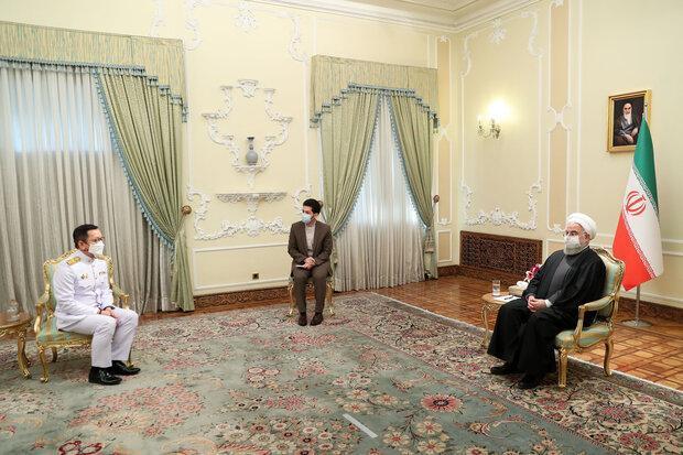 روحانی: آماده گسترش همکاری ها با بانکوک هستیم