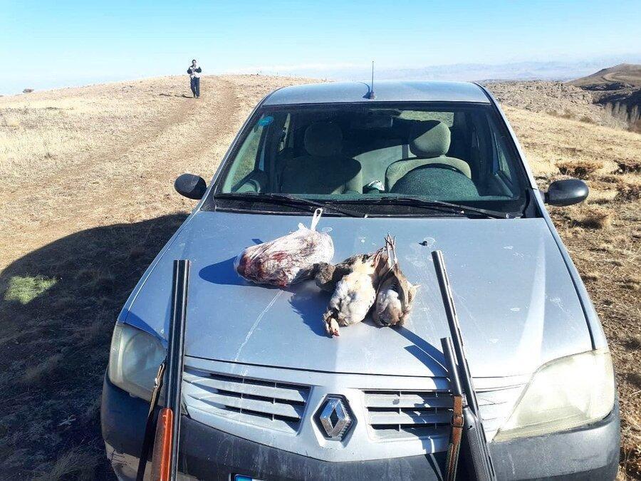 8 شکارچی متخلف در چالدران و شوط دستگیر شدند