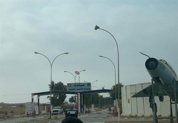 فرود یک فروند هواپیمای آمریکایی از کویت به پایگاه عین الاسد