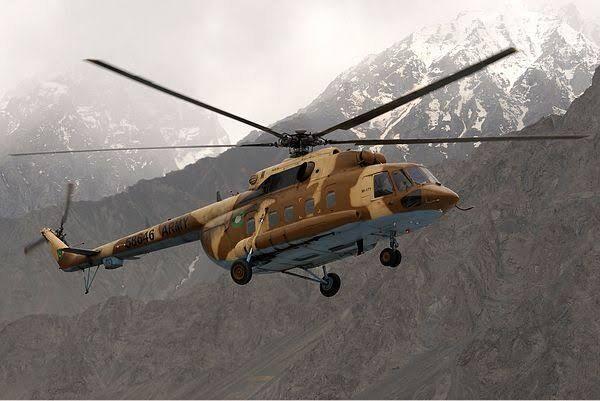 خبرنگاران سقوط بالگرد ارتش در پاکستان 4 کشته برجای گذاشت