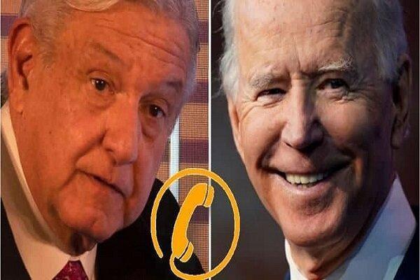 جو بایدن با رئیس جمهور مکزیک تلفنی مصاحبه کرد