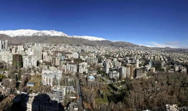 شاخص کیفیت هوای تهران امروز جمعه اول اسفند 99؛ هوای پایتخت در اولین روز اسفند پاک است