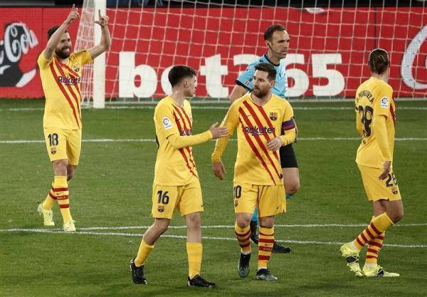 لالیگا، فزونی روحیه بخش بارسلونا در آستانه ملاقات حساس با PSG