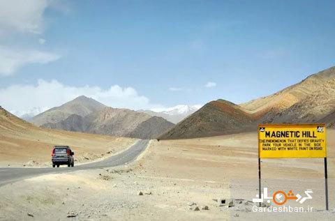 تپه های مغناطیسی هند؛جاذبه ای دیدنی و عجیب، عکس