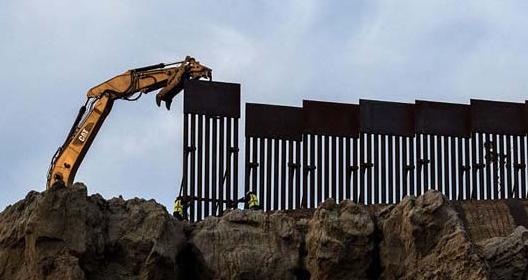 لغو بودجه نظامی تکمیل دیوار مرزی از سوی دولت بایدن