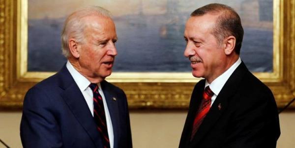 بایدن با اردوغان درباره مسائل مختلف از جمله ایران رایزنی می کند