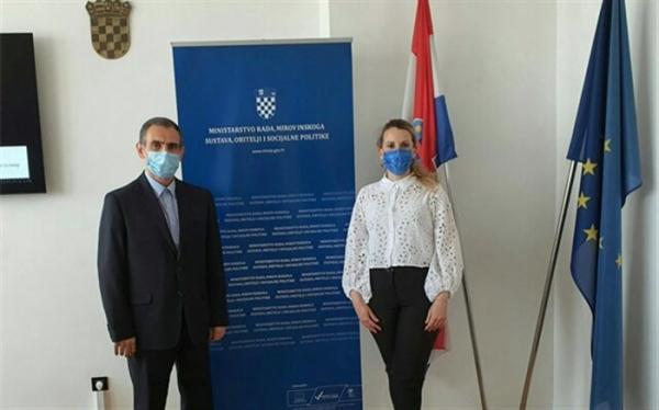 حضور نیروی متخصص ایرانی در بخش های مالی کرواسی