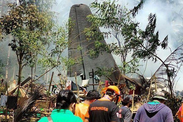 سقوط هواپیما در فیلیپین، تعدادی از سرنشینان زنده ماندند