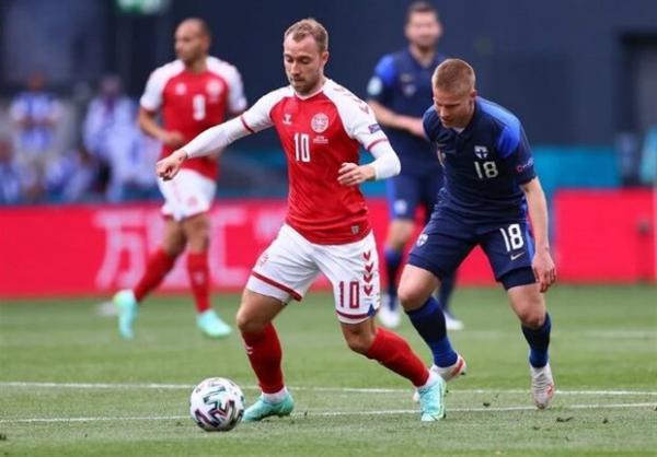 باخت دانمارک مقابل فنلاند با شوک عظیم اریکسن