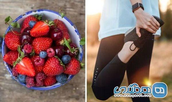 مصرف مواد خوراکی همراه ورزش به چربی سوزی بیشتر یاری می نماید
